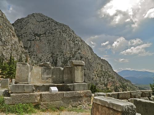 Delphi, Mount Parnassus