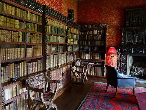 Chirk Castle Library, Wales