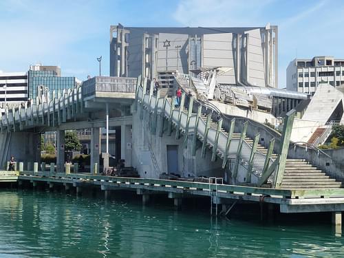 Bridge over Jervois Quay