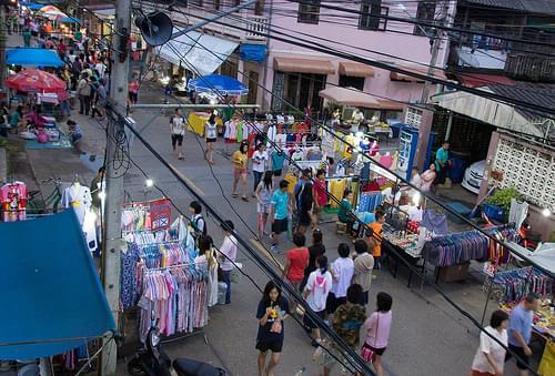 A tiny slice of the Lampang Street Fair