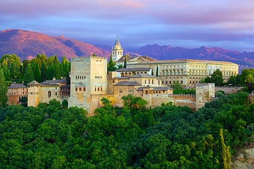 The Alhambra from Mirador de St. Nicolas (1)