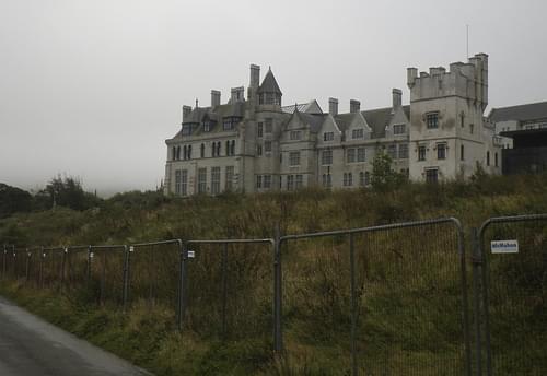 New Dunboy castle.