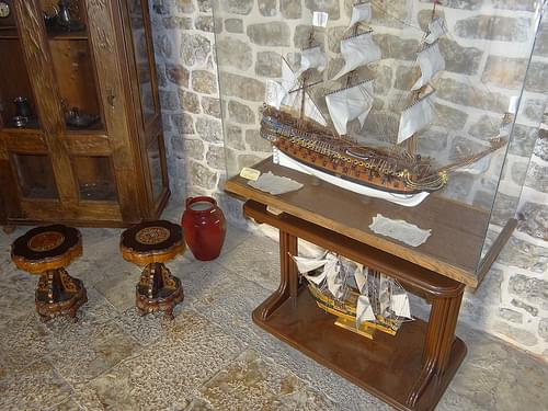 Nautical Display in Citadel Museum - Budva - Montenegro