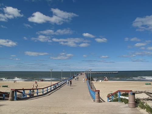Seafront at Palanga