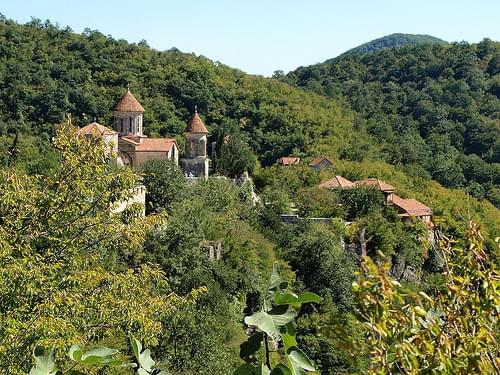 Грузия. Кутаиси. Монастырь Моцамета, VIII-XI в.