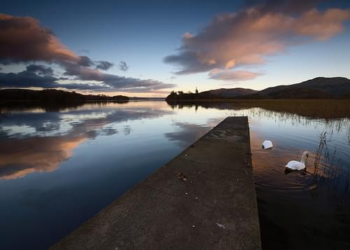 Later at Lough Gill
