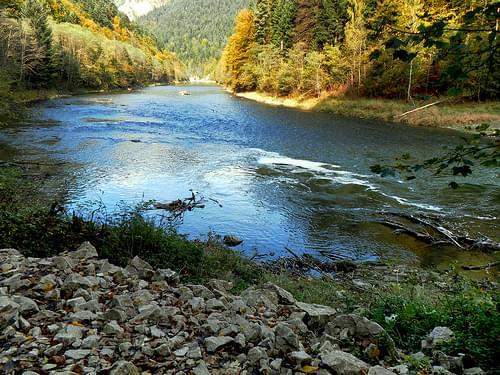 Przełom Dunajca w barwach jesieni 05