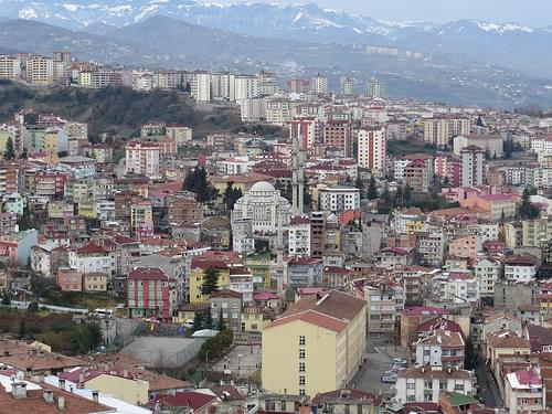 Trabzon City - dirty and dull