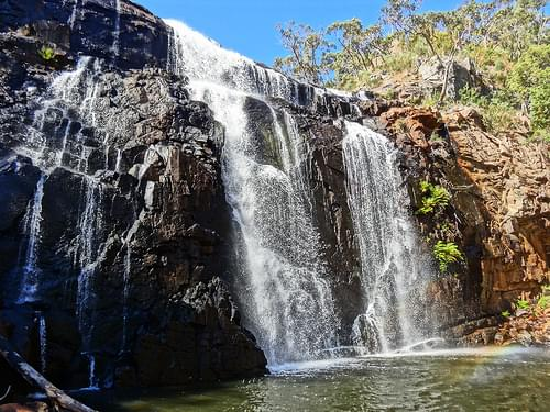 Em MacKenzie Falls - Grampians National Park