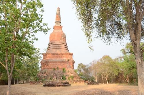 Sukhothai.Wat Trapang Thong luang.2