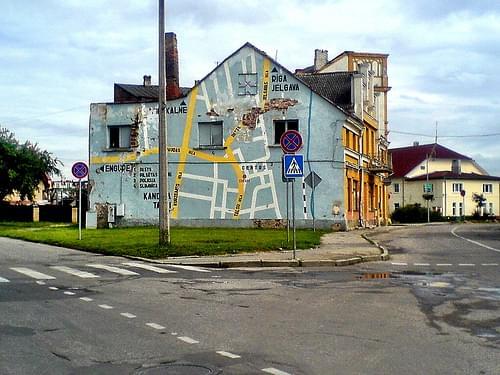 Stadtplan-Haus