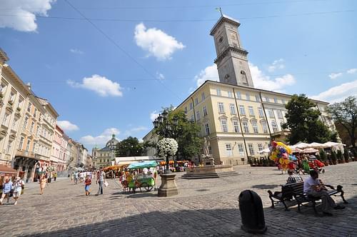 Lviv town hall (Ratusha)
