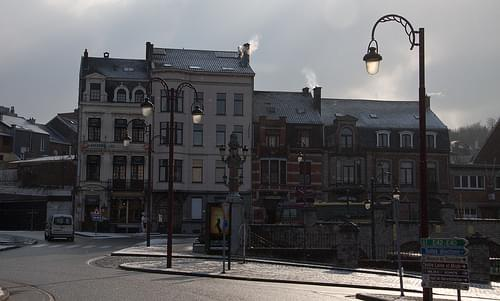 place de la gare central, verviers