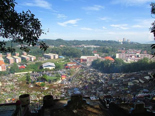 View From Keramat Hill, Kota Kinabalu