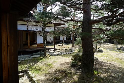 Merchant's house and garden, Takayama