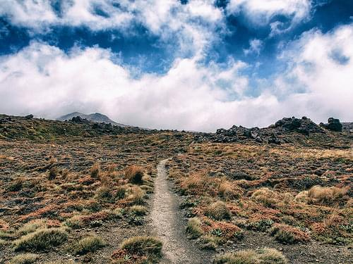 Into the beyond, Tongariro National Park