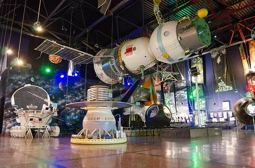 Museum of astronautics in Zhytomyr