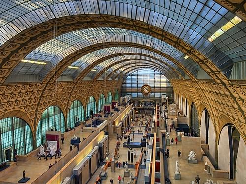 Musee d'Orsay wide view