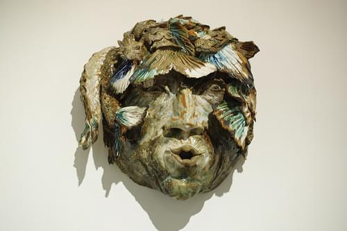 A ceramic piece of Sylvain Bongard