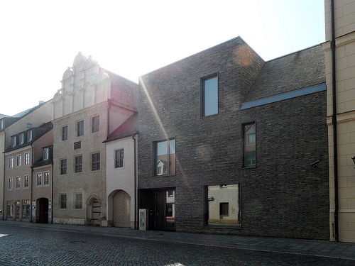 Lutherstadt Wittenberg - Melanchthonhaus mit Erweiterungsbau