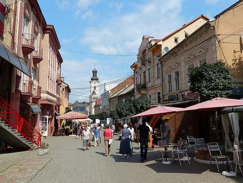 Historic Center, Uzhhorod