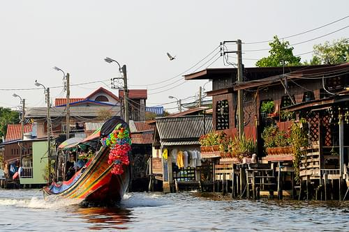 Bangkok khlongs Thonburi