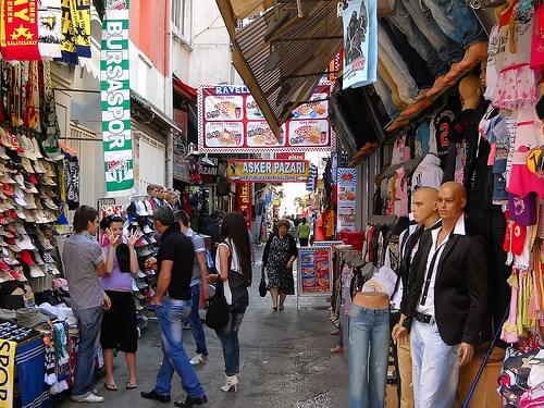 Izmir, Kemeralti Bazaar