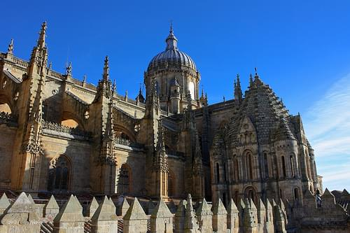 Old and New Cathedrals / Catedrales Vieja y Nueva, Salamanca