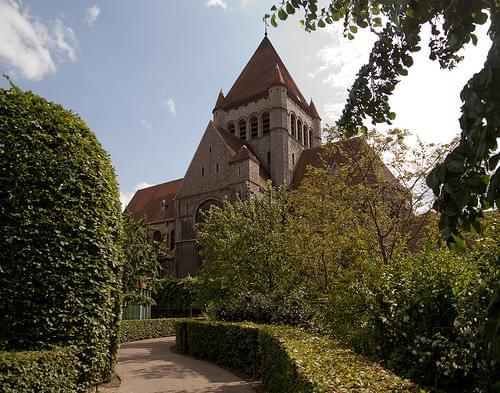 Tournai - Église Saint-Quentin