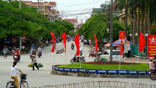 Five ways, Kien An, Hai Phong, Vietnam