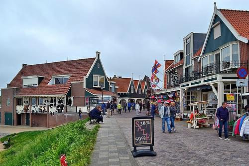 Volendam y Marken (Holanda)