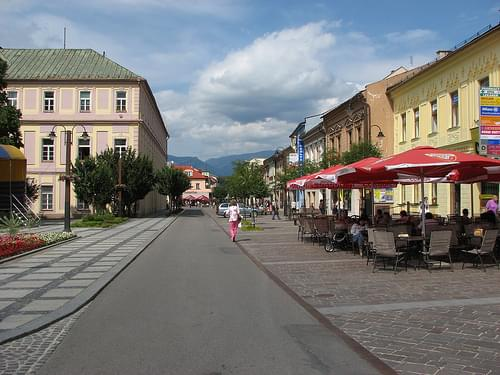Historic Center, Liptovsky Mikulas