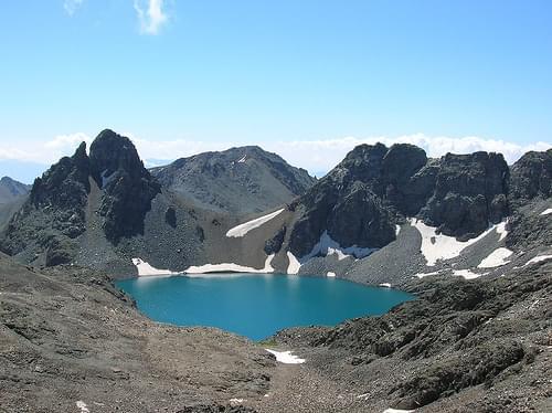 Mount Kaçkar: Deniz Gölü