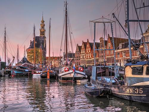 Hoorn Harbor Dawn