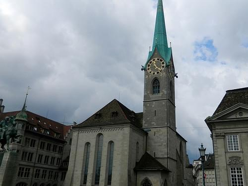 Zurich, Fraumunster