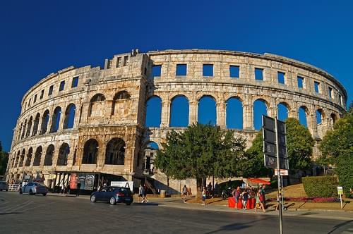 Amphitheater - Arena Pula Croatia