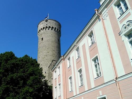 Tallinn, Stenbock House & Toompea Castle