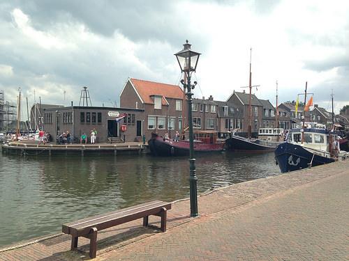 Harbor of Spakenburg (Netherlands)