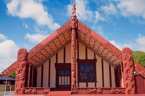 Ohinemutu Maori meeting house
