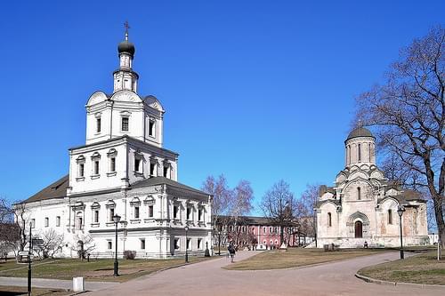 Москва. Спасо-Андроников монастырь. XIV-XX века
