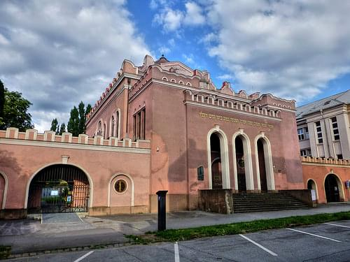 Orthodox synagogue and Jewish school in Kosice, Slovakia