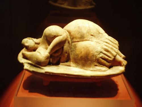 Sleeping Lady from the Hypogeum, National Museum of Archaeology, Valletta - Malta