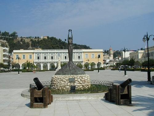 Solomos Square and Zakynthos Museum