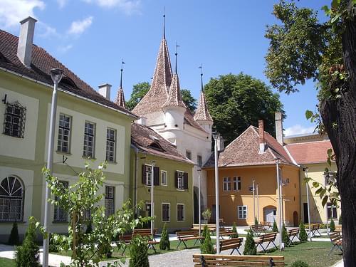 Attractive Square in Brasov