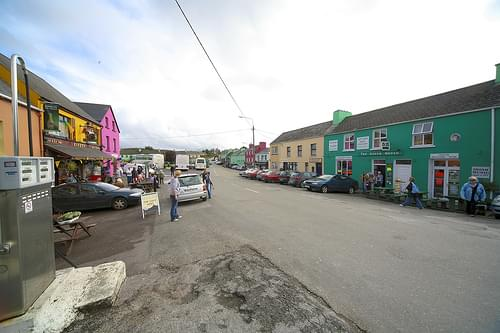 Village Of Sneem (Count Kerry, Ireland)