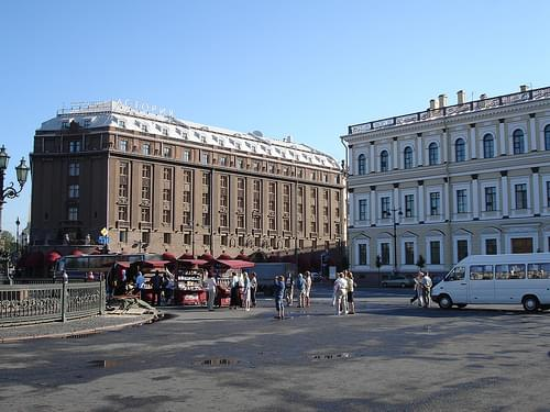 DSC00827, St. Isaac's Square, St. Petersburg, Russia