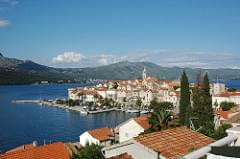 From the Balcony - Korcula