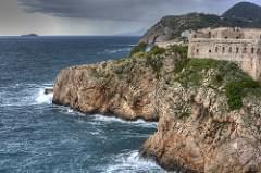 HDR Image of the Old fort in Dubrovnik