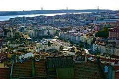 Lisbon seen from