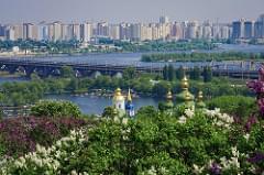 Landscape from Kiev's hills